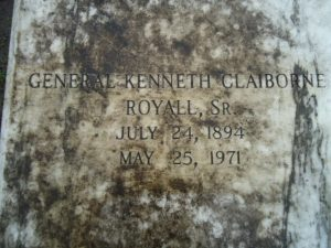 Kenneth Royall grave
