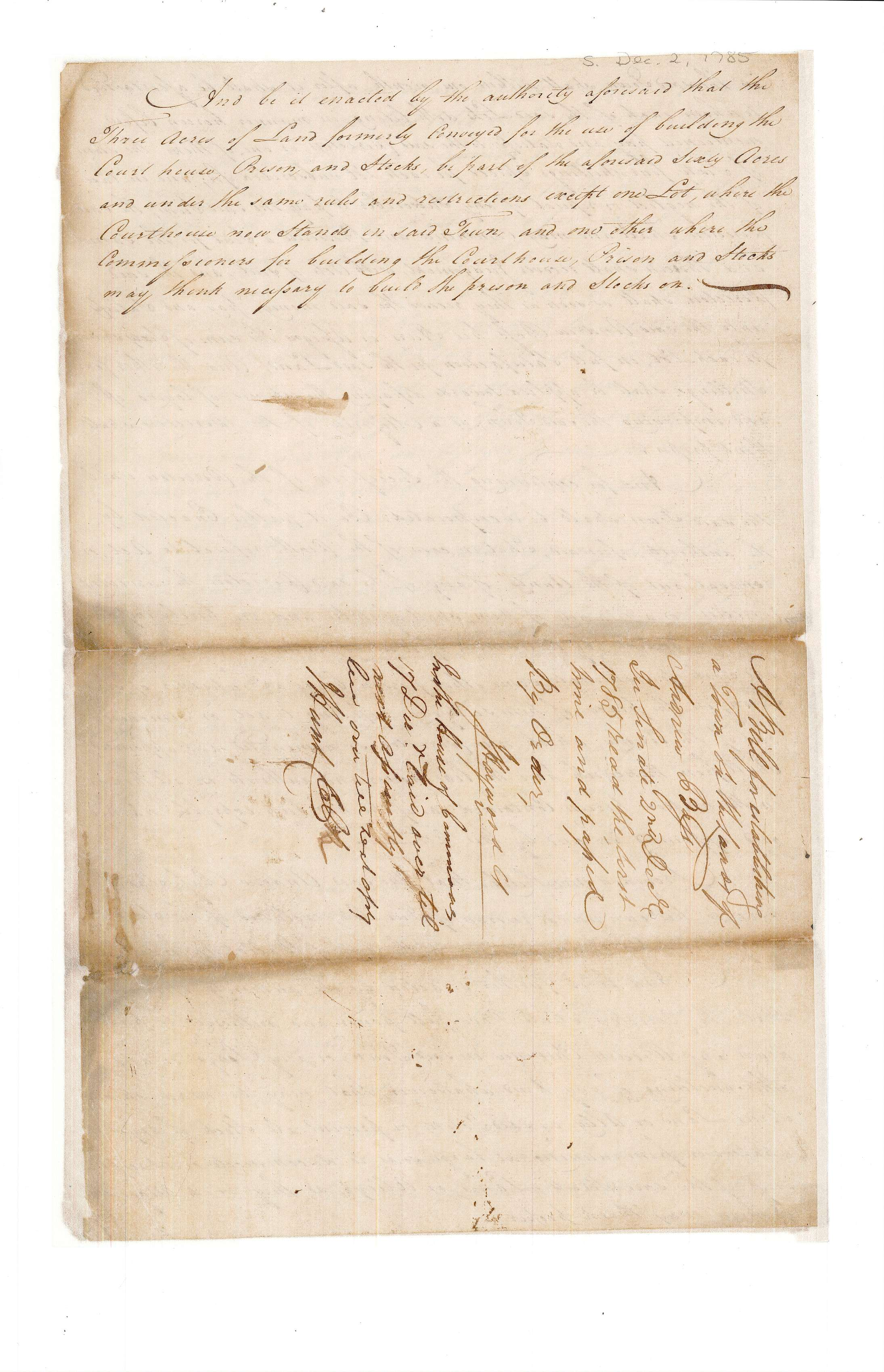 Waynesborough incorporation 1785, p4