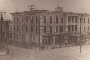 Hotel Kennon, downtown Goldsboro, 1890s