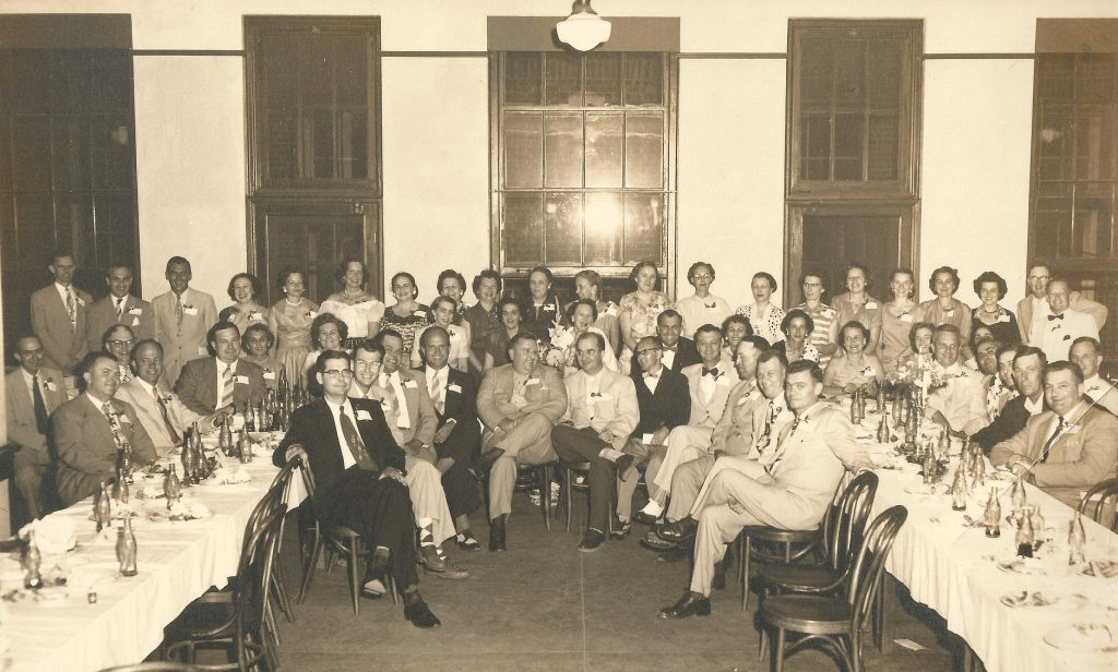 Goldsboro High School class of '33 reunion - June 1953