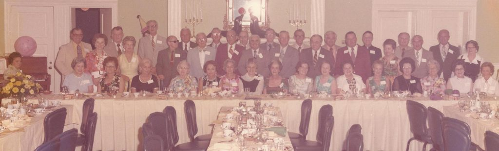 Goldsboro High School class of '33 reunion - June 1973