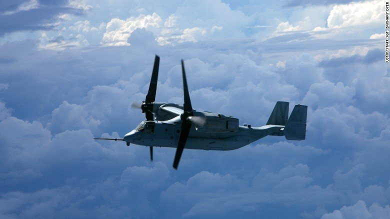 V-22 Osprey in flight