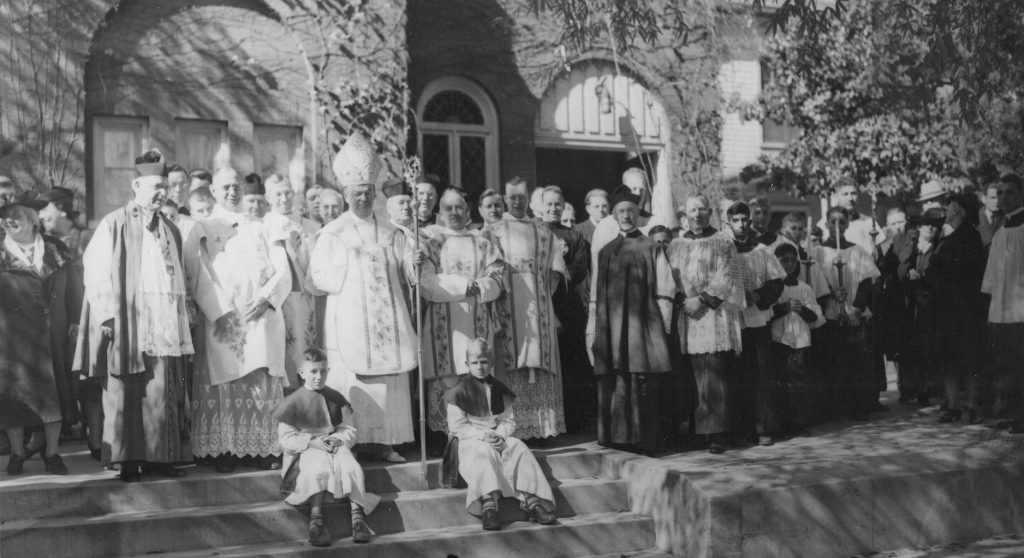 St. Mary's Catholic, 50th anniversary, 1939