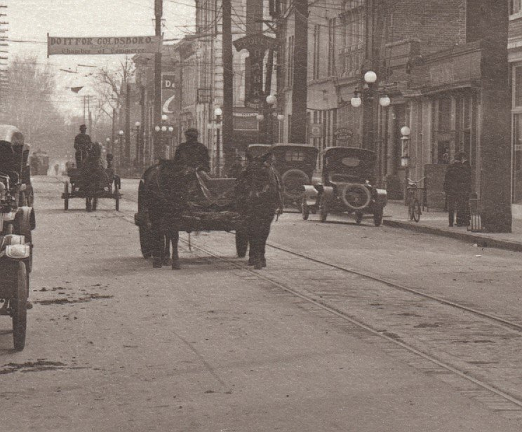 West Walnut St, Goldsboro, 1920s